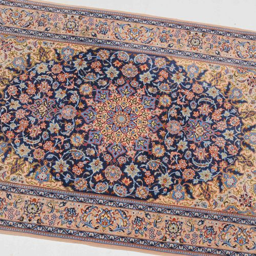 Isfahan Isfahan  Z Persia, c. 1980. Material de pelo de lana de corcho, urdimbre…