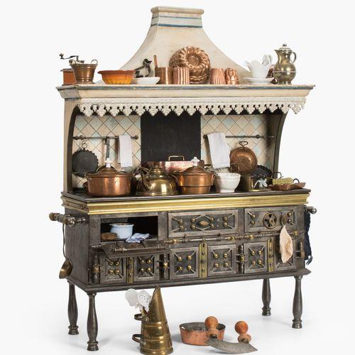 Kinderkochherd Cocina para niños  Francia, finales del siglo XIX. Modelo de coci…
