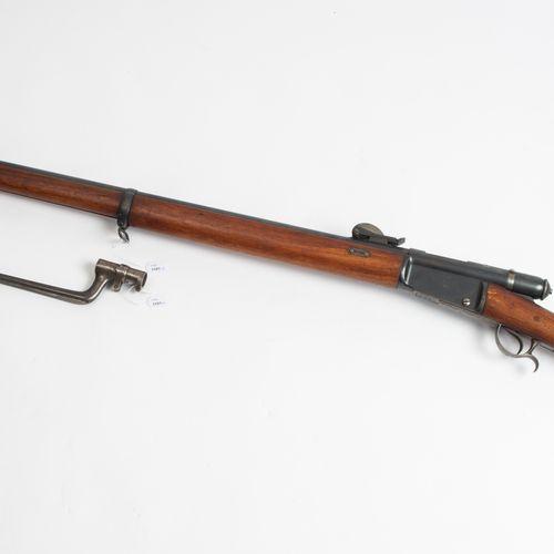 Vetterligewehr M. 81 Vetterli rifle M. 81  瑞士,从1881年开始。 蓝光圆管(长82厘米),带四角形瞄准器和前瞄准器…