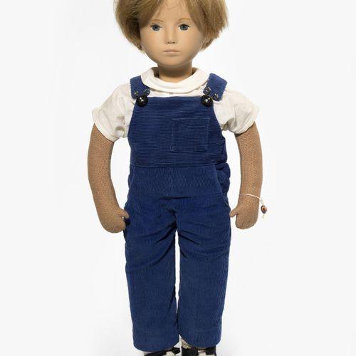"Sasha Morgenthaler Puppe ""Bub in Latzhose"" Sasha Morgenthaler Puppe ""Bub in Latz…"