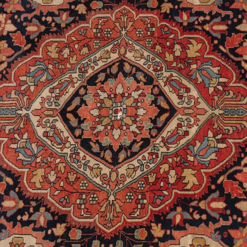 Saruk Farahan Saruk Farahan  Z Persia, vers 1910. Travail floral dense. Le champ…