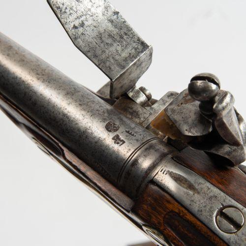 Steinschlosspistolen Paar Paire de pistolets à silex  Russie, vers 1803. Les arm…
