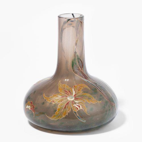 """Emile Gallé, Vase Emile Gallé, vase  Nancy, vers 1890. Signature en bas : """"Emile…"""