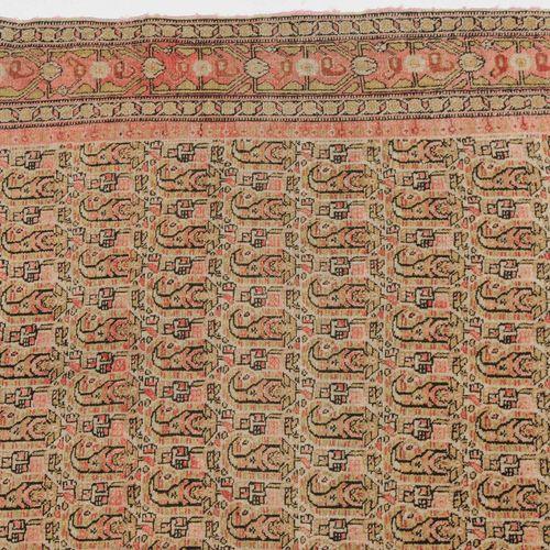 SENNE Senne  Perse occidentale, vers 1900, finement tissé. Des boteh güls filigr…