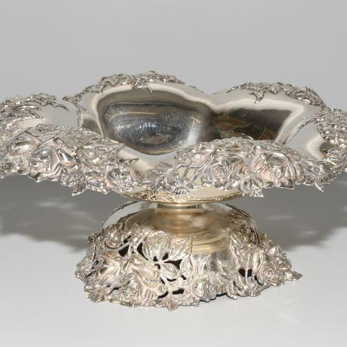 Fussschale Tazón de pie  Filadelfia (EEUU), siglo XX, plata. Marca del fabricant…