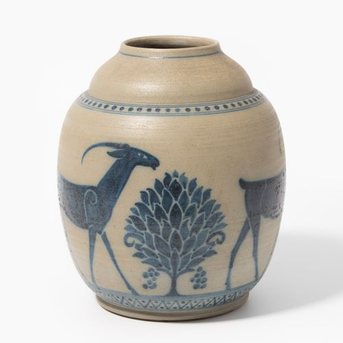 Galileo Chini, Vase Galileo Chini, vaso  Mugello, 1920 circa, ceramica salata ma…