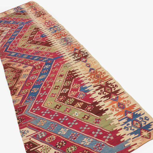 Konja Kelim Fragment Fragmento de kilim de Konja  Z Turquía, c. 1900. Fragmento …