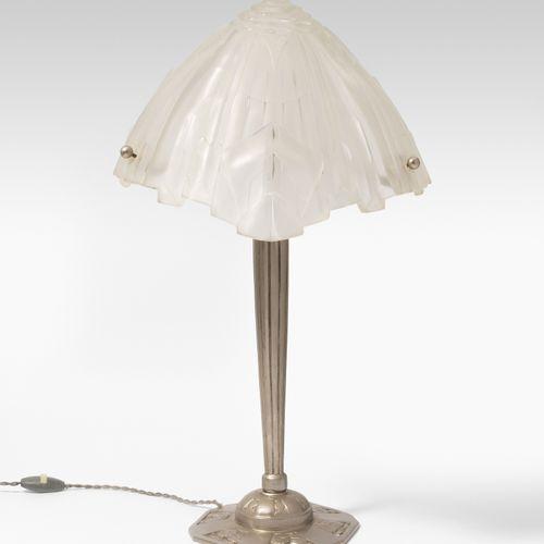 Frankreich, Tischleuchte Francia, lampada da tavolo  Intorno al 1930, base in me…