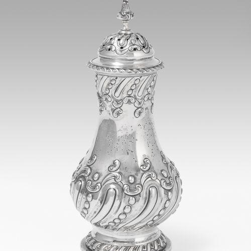 Zuckerstreuer Spruzzatore di zucchero  Sheffield, 1902. Argento. Marchio del mae…