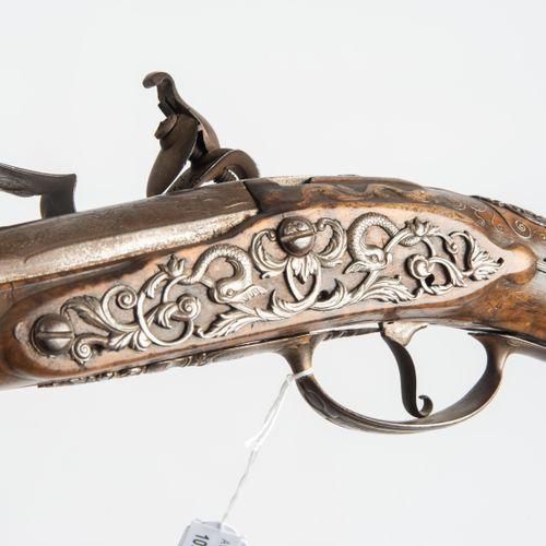Steinschlosspistole Pistolet à silex  France, fin du XVIIe/première moitié du XV…