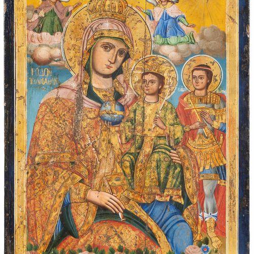 Gottesmutter unverwelkliche Blume Madre di Dio fiore immutabile  Greco, Scuola I…