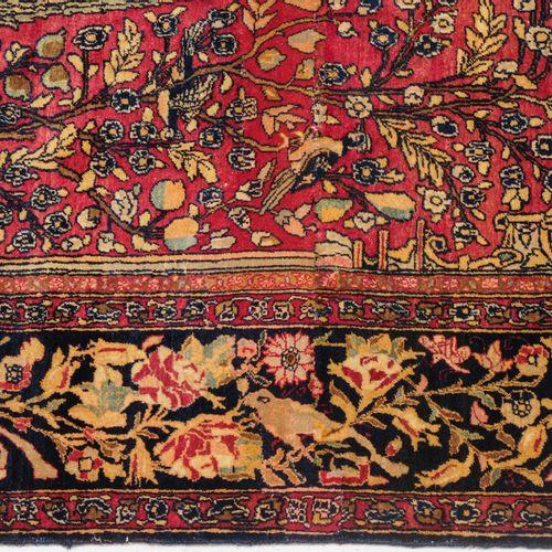 Isfahan Isfahan  Z Perse, vers 1910. Sous une niche de prière (mihrab), un grand…