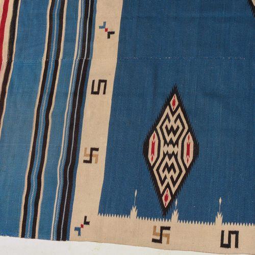 Navajo Kelim Navajo Kelim  Z America, vers 1900. Une œuvre élégante et contempor…