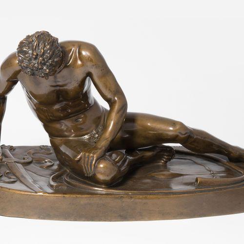 """Figur """"Sterbender Gallier"""" Figura """"Gallia morente  Francia, intorno al 1900, mod…"""