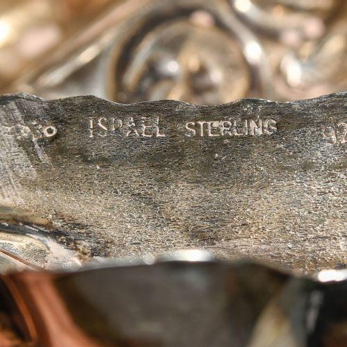 Grosse Girandole Gran girándula  Israel, siglo XX. Plata. Marca del fabricante i…