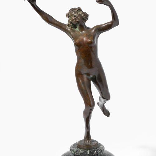 Eugène Désiré Piron Eugène Désiré Piron  (第戎1875 1928年普罗旺斯沙龙)  青铜,有深色斑纹。艺术家的签名。带…