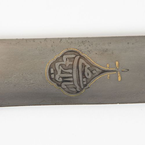 Säbel, Shamshir Sabre, Shamshir  Indo persan, 18e/19e siècle. Récipient avec des…