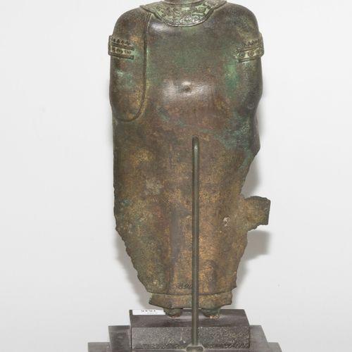 Fragment einer Buddhafigur Fragment d'une figure de Bouddha  Thaïlande, Ayutthay…
