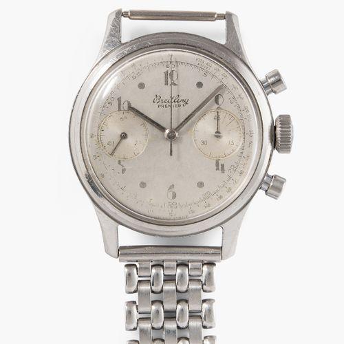 "BREITLING 百年灵 ""卓越790"",约1940/50年代  不锈钢表壳,编号611033,35毫米。手动上链的Venus Cal 150机芯,带小秒针、…"