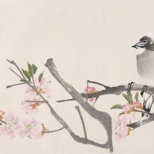 Renbonian Huace Renbonian Huace  Chine, 1954. 4 gravures sur bois de Ren Bonian …