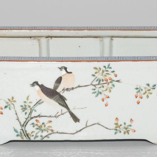 Jardinière Jardinière  Chine, fin du XIXe siècle. Porcelaine. Signé Shendetang z…