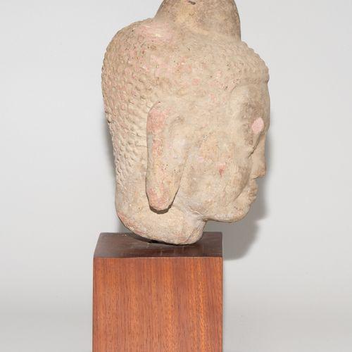 Buddhakopf Tête de Bouddha  La Thaïlande. Dans le style de Dvaravati (6 11e s.).…