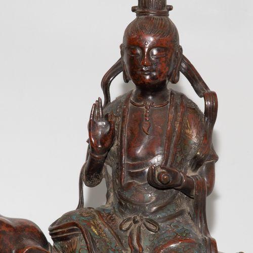 Grosse Figurengruppe Grand groupe de personnages  Japon, début du XXe siècle. Br…