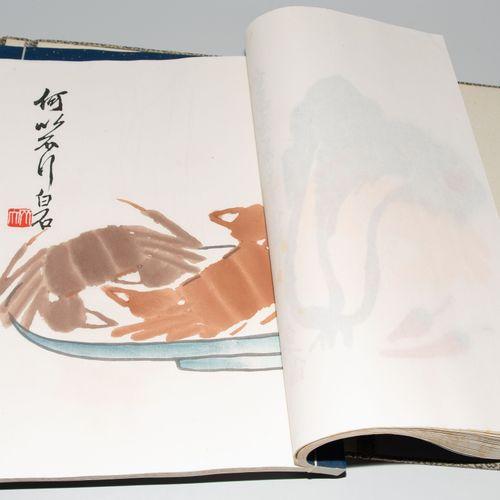Beijing Rongbaozhai Xinji Shijianpu 北京荣宝斋辛集石家庄店  北京,1955年。齐白石、王雪涛、吴岱舆、王实味的水彩木刻版画…