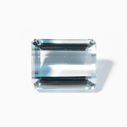 Loser Aquamarin 松散的海蓝宝石  18.029 ct, oct. Step cut.