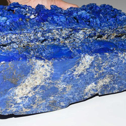 Lapis Berg Montagne de Lapis  Chine, 20e siècle. Lapis lazuli. Paysage de montag…