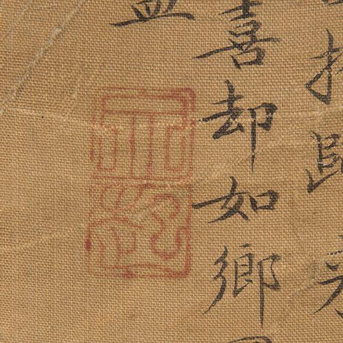 Wen Zhenmeng (1574–1636), zugeschrieben. Wen Zhenmeng (1574 1636), attribué.  Pe…
