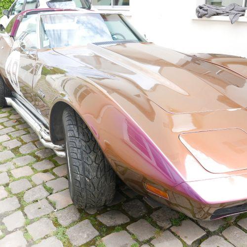 Véhicule CorvetteC3 Small Block V8350 CI 1976 13800 kms au compteur (Attention…
