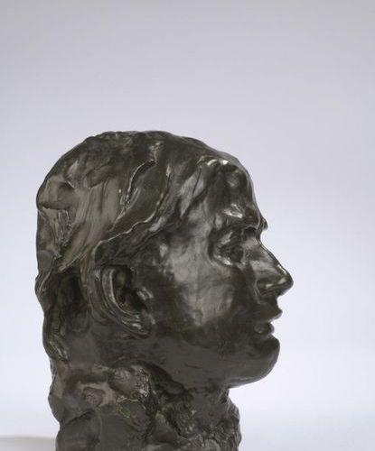 Auguste RODIN (1840 1917)  La pleureuse, 2e version dite aussi version au cou c…