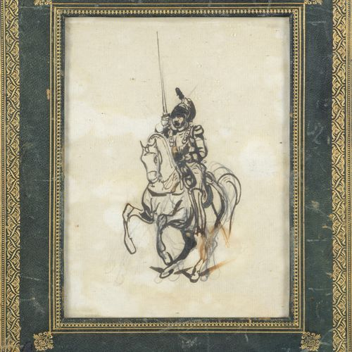 Package including?:  A print enhanced with ink wash titled Bathsheba and bearing…