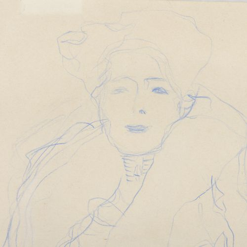 Gustav KLIMT (1862 1918)  Study for the Portrait of Fritza Riedler, painted in 1…