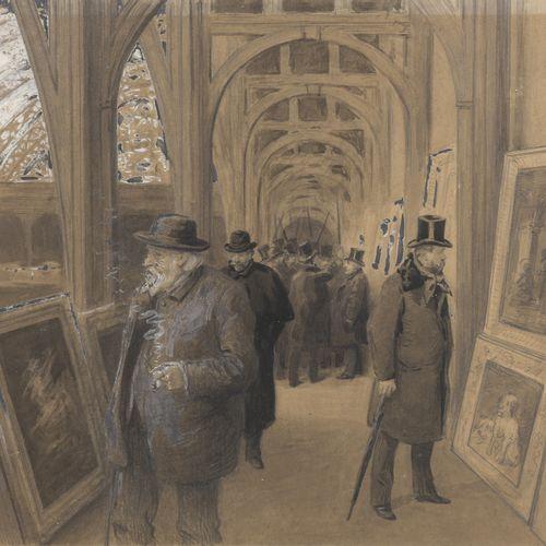Alexis LEMAISTRE (1853 ?)  The Exhibition at the Palais de l'Industrie  The jury…