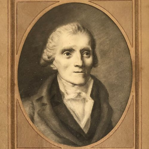 French school early 19th century  Portrait of a man  Pen and black ink, grey was…
