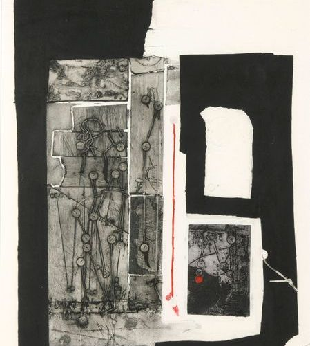Antoni CLAVÉ (1913 2005)  Sans titre  Gravure au carborandum sur papier signé,…