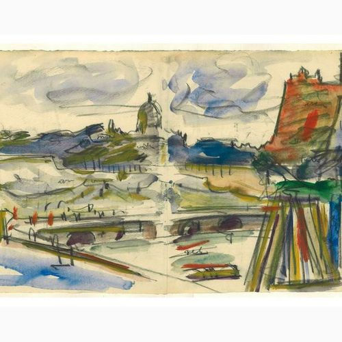 ANSELMO BUCCI  Fossombrone, 1887 Monza, 1955 View from the Trajan Forum, 1933 Ch…