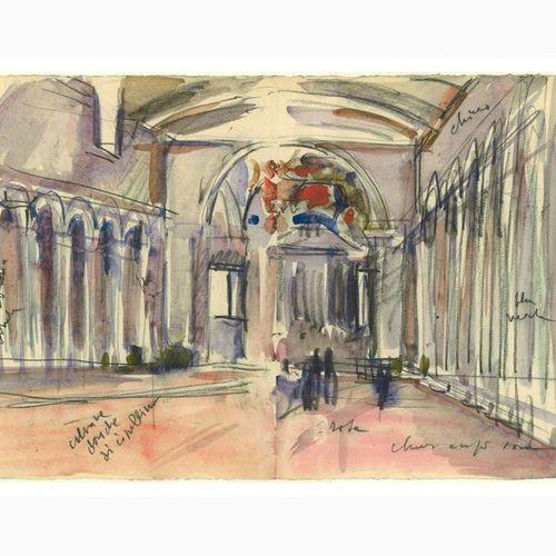 ANSELMO BUCCI  Fossombrone, 1887 Monza, 1955 San Pietro in Vincoli, 1933 Charcoa…