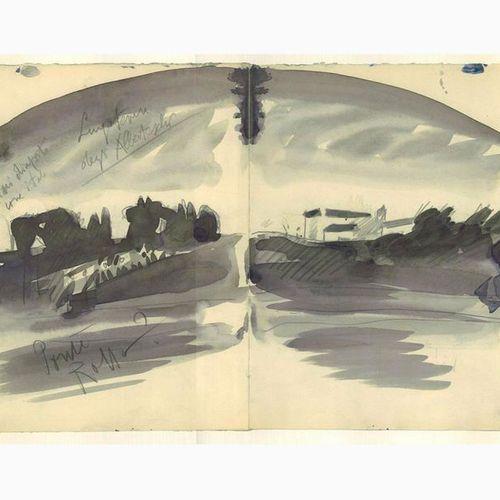 ANSELMO BUCCI  Fossombrone, 1887 Monza, 1955 Lungotevere degli Alberteschi / Pon…