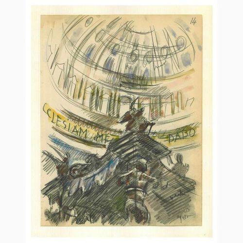 ANSELMO BUCCI  Fossombrone, 1887 Monza, 1955 The Baldacchino di San Pietro, 1938…