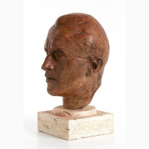 UMBERTO MASTROIANNI Fontana Liri, 1910 Marino, 1998 Head of a Man / Melancholy, …