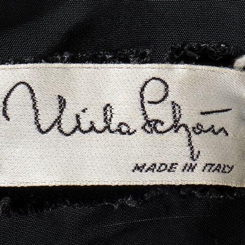 MILA SCHÖN ALTA MODA  VELVET ENSEMBLE  1991 ca Ensemble (jacket and long skirt) …