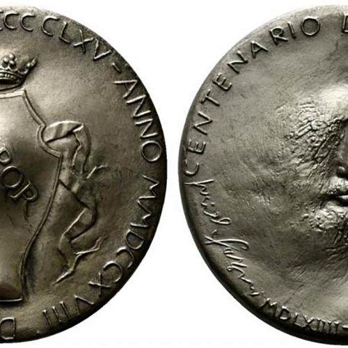 ROMA. Médaille du centenaire de Michel Ange 1965. Coniazione Johnson Opus Pericl…