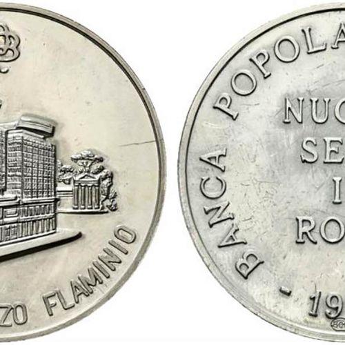 ROMA. Médaille commémorative de l'inauguration au Palazzo Flaminio du nouveau si…