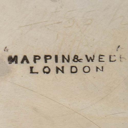 Service de toilette en argent sterling Londres 1890, marque de Mappin & Webb com…