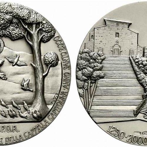 ROMA. Medaglia anno 2000. 750 anni dei Francescani sul Campidoglio. Coniazione J…