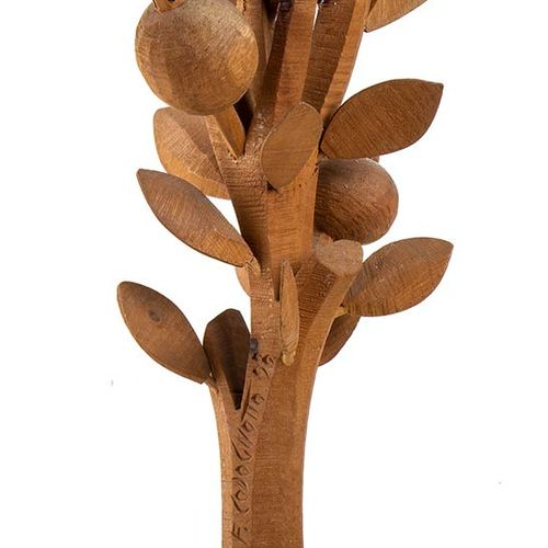 FERDINANDO CODOGNOTTO (San Donà di Piave, 1940) The Pomegranate Tree, 1988 Woode…