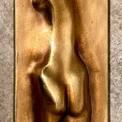 """Claude LHOSTE (1929 2010) """"La nageuse"""" 1975 Epreuve en bronze, fonte d'édition à…"""